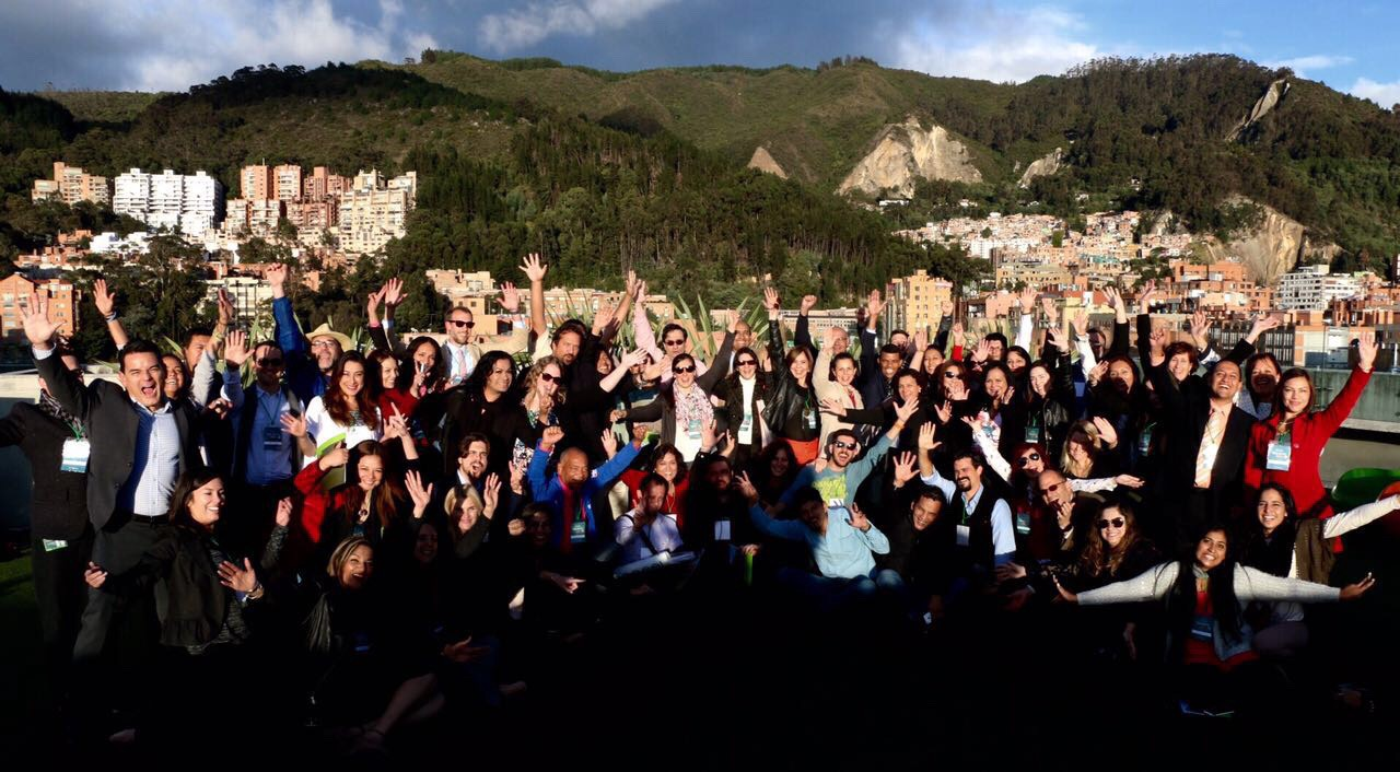 Participants, trainers, U.S. Department of State staff celebrate at end of TechCamp Bogota: Transforming Health Communications