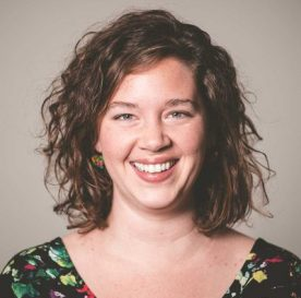TechCamp trainer Katie Parsons.