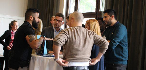 Ravin Sampat of BBC showcases data verification tools at TechCamp Scandinavia