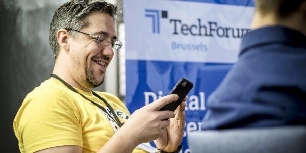 TechForum Brussels participant