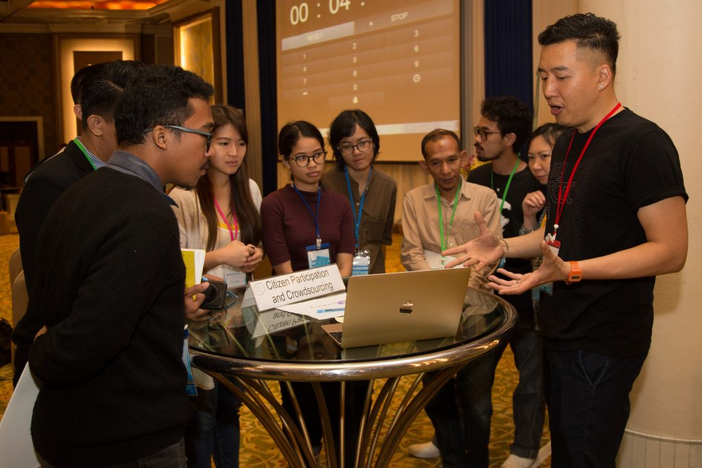 Thiti Luang diving into the finer points of crowdfunding campaigns