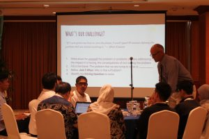 Participants go on a deep-dive into breaking down problems