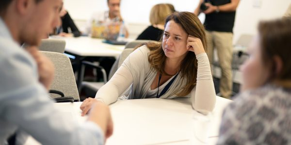Kasia Dorsey at TechCamp Reconnect