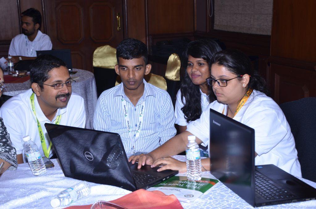 TechCamp Chennai participants