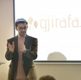 TechCamp trainer Mergim Cahani.