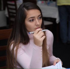 TechCamp trainer Liridona Osmanaj.