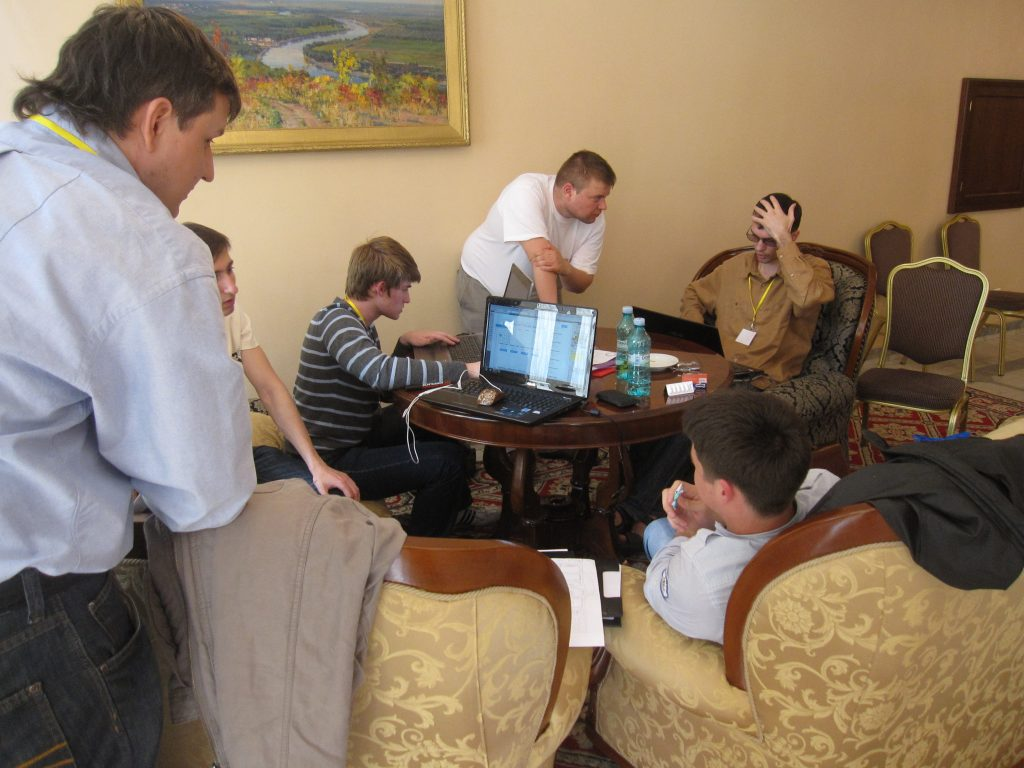 TechCamp Moldova 2011 brainstorming