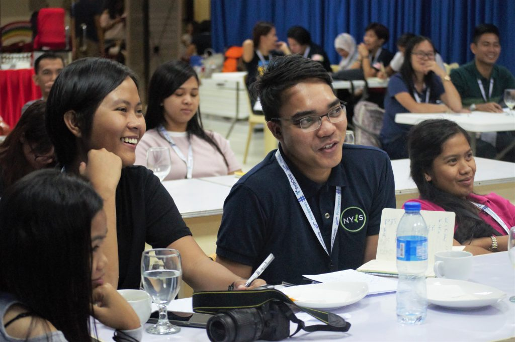 Some engaged TechCamp Philippines participants